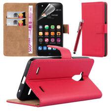 Cover e custodie pelle sintetici rossi modello Per ZTE Blade per cellulari e palmari