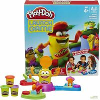 Hasbro Play-Doh LaunchoRama Fun Family Activity Children's Game for Ages 4+