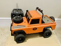 TAMIYA Vintage Land Rover Customised 1/10 4WD Vintage Rc Buggy