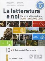 La letteratura e noi Vol 3+4 Luperini/Baldini PALUMBO cod:9788860176844 (2 tomi)