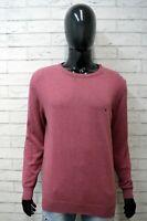 TOMMY HILFIGER XL Maglione Uomo Pullover Felpa Cardigan Maglia Sweater Man