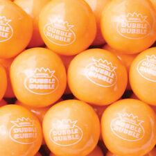 "Orange Sherbert 1"" Gumballs 5 Lbs Bulk Vending Machine Gum Ball New"