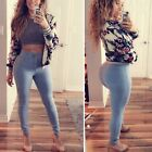 Womens Bodycon Jeggings Jeans Pencil Stretch Pants Long Trousers Skinny Leggings