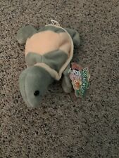Tommy Turtle Bean Bag Sprouts Plush Beanie Toy