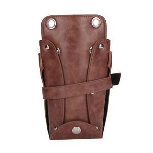 Scissor Pouch Holster With Belt Hairdressing Belt Bag Humanized Design For Home