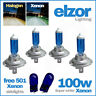 4x H7 100w MUY Blanco Bombillas Para Faros delanteros de actualización de xenón