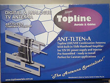 Topline UHF Caravan,RV  TV Antenna (ANT-TLTEN -A)  Built In Booster