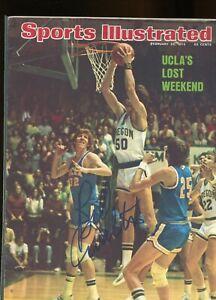 BILL WALTON UCLA BRUINS SPORTS ILLUSTRATED MAGAZINE signed autographed