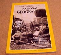 National Geographic Magazine August 1986 Oregon Trail Argentina Uranus Ulysses