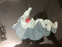 Street Sharks Original Production Animation Cel Jab Restrained Mummy Falling