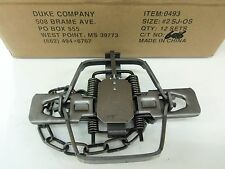 1 Duke # 2 Square Jaw Offset Coil Spring Trap 0493 Coyote Bobcat Fox Lynx