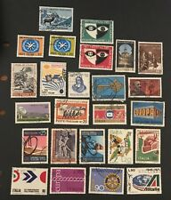 Italy postage stamps lot of 25 old               No