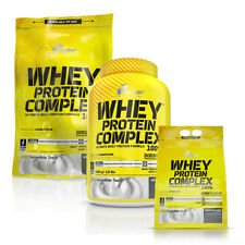 Olimp Whey Protein Powder Complex 100% 600g 700g 1.8kg 2.2kg Muscle Mass Shake