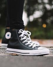 Converse Scarpe Sportive Sneakers Chuck Taylor All Star Leather Nero Unisex