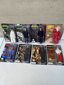 8 Figure Lot Marty Abrams Mego Horror Series 8-Inch Action Figure new in hand