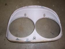 1958 Ford car exterior PASSENGER FRONT headlight trim molding bezel rat rod