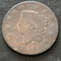 1819 Coroned Head Large Cent 1c Circulated  #2260