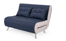 Made.com Haru Small Sofa Bed, Quartz Blue