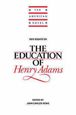 New Essays on The Education of Henry Adams (The American Novel)