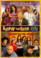 KEEPING THE FAITH HIGHER GROUND/LOOKIN FOR MR RIGHT (DVD, 2012) NEW