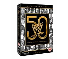 WWE - History of WWE: 50 Years of Sports Entertainment (3 Disc) DVD (Pre-Owned)