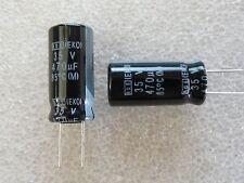 5 condensateurs 470uF 35V Vishay Roederstein EKO