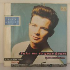 """Rick Astley – Take Me To Your Heart (The Dick Dastardly Mix) (12"""", Maxi 33T)"""