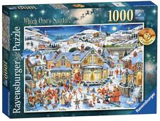NEW Ravensburger 1000 Pc Limited Ed. Which One's Santa Christmas Puzzle 2017