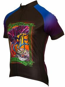 Purple Haze Women's Full Zip Short Sleeve Cycling Jersey 🔥🔥Mult. Sizes 🔥🔥