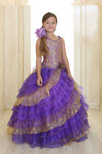 Pageant Dress Flower Girl Formal Party Princess Gown CALLA USA DESIGN  SIZE  8