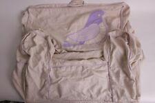 Pottery Barn Kids Bird applique anywhere chair slip cover *regular size purple