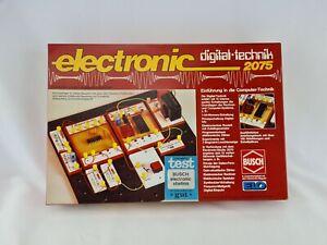 Busch electronic Digital Technik 2075 Baukasten Grundkasten Vintage Rarität