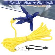 1x Folding Anchor For Canoe Kayak Fishing Accessories Boat Marine Sailboat Tool