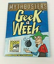 Mythbusters Geek A Week Cards + Tag, 2012 Comic-Con Exclusive, Len Peralta Art