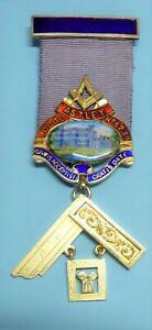 Masonic Silver Past Master Jewel Astley Lodge No 6234