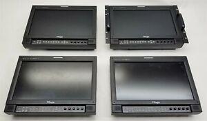 "TVLogic LVM-173W-3G 17"" Multi Format DVI SDI LCD Broadcast Monitor LOT 4 PARTS"
