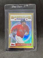 2020 Topps Baseball's Finest Flashbacks - J.D. Martinez Gold Refractor 50/50