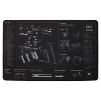 "Glock Armorer Bench Mat Cleaning Mat 11""x17"" Armorers Bench Mat Gaming Mouse pad"