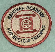 AB-055 - National Academy for Nuclear Training Uniform Patch, Embroidered