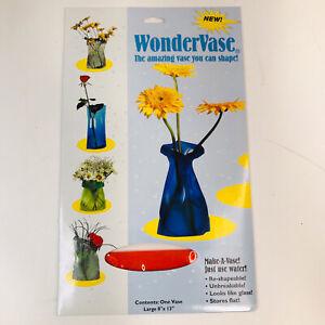 Wonder Vase, Reusable Flower Vase Shape & Reshape, Crystal Red Tint