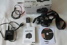 Canon EOS 1100D 12.2MP Digital-SLR DSLR (caméscope HD) Body Only-Coffret