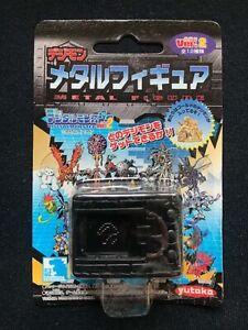 Yutaka 1998 Digimon Ver 2 Digivice Box Mini Metal Figure Black Color Ver Japan