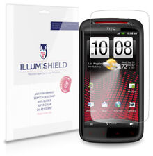 iLLumiShield Phone Screen Protector w Anti-Bubble/Print 3x for HTC Sensation XE