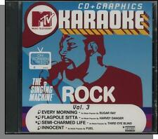 Karaoke CD+G - MTV Rock Hits Vol 3 - New Singing Machine CD! Semi-Charmed Life