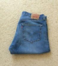 Mens Levis 501 XX straight leg blue denim jeans W 36 L 32