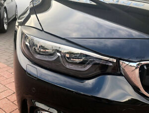 Fits BMW 4 Series F32 - Eye Brows Head Light Cover