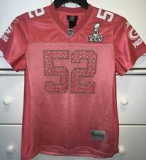 Pink Clay Matthews Green Bay Packers Jersey Super Bowl XLV NFL Size Small Reebok