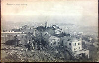 Early 1900's Postcard Genoa View From Top  of Righi Hill Italy