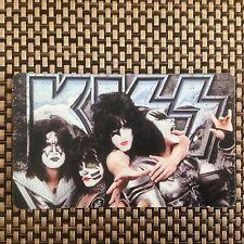 Large Tool Box Photo Fridge Magnet KISS group monster rock