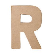 Darice Paper Mache Capital Letter R - 8 X 5 1/2 X 1 IN.